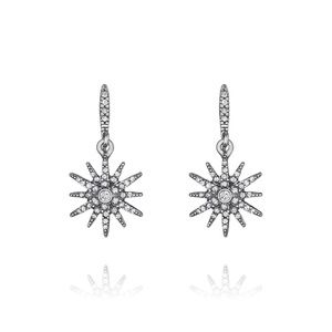 NEW Chloe + Isabel Starburst Petite Drop Earrings